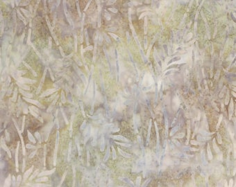 Tan Batik - Delicate Leaves - Overlapping branches - Wilmington Echoed Angles -  22232 271 Tan - Priced by the half yard