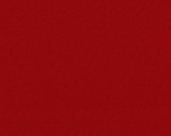Red Solid Fabric - Michael Miller Cotton Couture - Cranberry SC5333 - Priced by the 1/2 yard