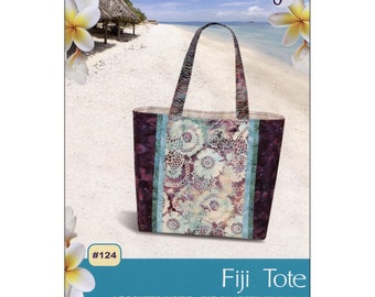 Bag Pattern - Fiji Tote Bag From Pink Sand Beach Designs By Nancy Green - PSB 124 - DIY Bag Pattern