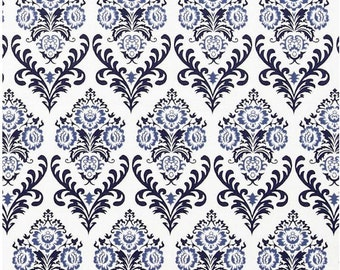 Damask Floral Fabric - Heirloom Oyster Versailles by Dear Stella STELLA 24OYS - Priced by the 1/2 yard