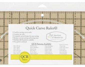 Quick Curve Ruler - From Sew Kind of Wonderful By Jenny Pedigo - Acrylic # SKW100
