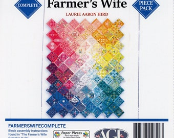 Sampler Quilt -The Farmer's Wife - 1920's Quilt Blocks - Dunbarton Press, By Laurie Arron Hird - DIY Project Book w/CD