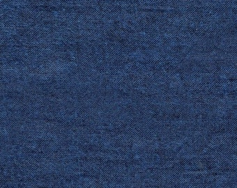 Peppered Cotton Solid Fabric - Blender Fabric - Shot Cotton -  Pepper Cory for Studio E - 45 Ink Dark Blue - Priced by the Half yard