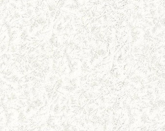 Silver Fabric - Glimmer Metallic Glitter Fabric - Fairy Frost - Michael Miller CM 0376 Glimmer White Base - Priced by the 1/2 Yard