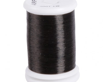 Aurifil Invisible Thread - Applique, Basting - Nylon Monofilament ITBC 1000 - 1094 yards - Smoke