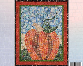 Pumpkin Mosaic - Mini Mosaic Quilts From Oy Vey Quilt Designs By Cheryl Lynch - MM736 - DIY Pattern