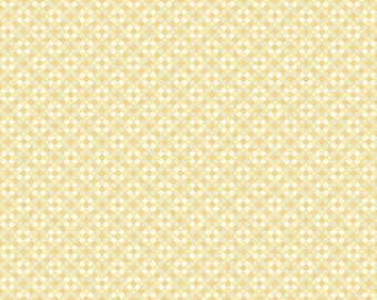 Closeout - Yellow Small Check Fabric - Aubrey Fabric by Studio E Fabrics E60 1725 44 - Sold by the yard
