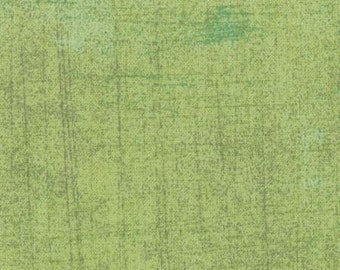 Green Textured Fabric - Pear Grunge by BasicGrey for Moda Fabrics 30150 152 Light Green - 1/2 yard