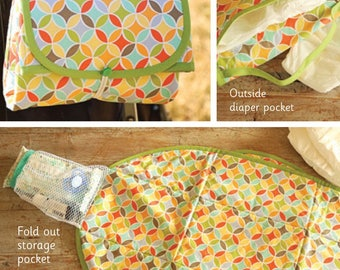Changing Mat, Portable Changing Mat, Take Along Changing Mat - Indygo Junction by Amy Barickman - IJ 1135 - DIY Project