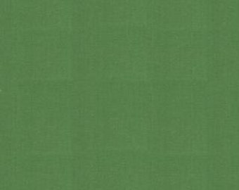 Solid Green Fabric - Bella Solid Dill (green)  by Moda Basics Fabrics 9900 77 - Priced by the half yard