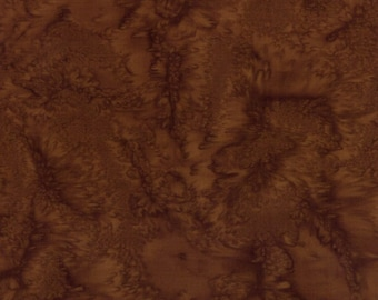 Hoffman Bali Batik - Hoffman Fabrics - 1895 253 Havana - Medium Brown - Priced by the Half Yard