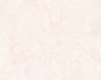 Amazon Batik Fabric -Washed Solid - Blank Quilting - 9239 30 Pale Pink - Priced by the half yard