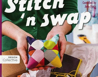Make-N-take projects - quick gift - Stitch 'n Swap - Generation Q Magazine, compiled by Jake Finch - StashBooks 11037