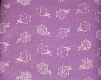 Cotton and Steel - Umbrella fabric - Raindrop by Cotton and Steel - 1942 03 Mauve Blush - Priced by the 1/2 yard