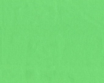 Green Solid Fabric - Cotton Couture - Michael Miller SC5333 Pastille Sea Green - Priced by the 1/2 yard