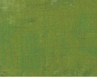 Zesty Apple Grunge fabric by BasicGrey for Moda Fabrics 30150 496 Green - Priced by the half yard
