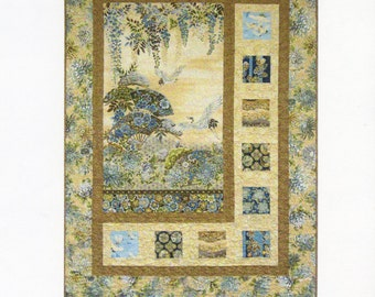 Panel Quilt Pattern - Sidelights by Kari Nichols for Mountain Peek Creations - 302