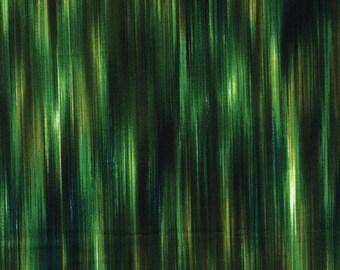 Fleurish Fabric - Striated Line Fabric by KANVAS Studio - 5619 44 Green - Priced by the 1/2 yard