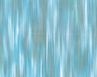 Fleurish Fabric - Striated Line Fabric by KANVAS Studio - 5619 58 Seafoam Blue - Priced by the 1/2 yard