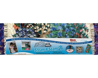 Steam A Seam 2 Warm Company double stick fusible web. - Sold by the bundle - 24-Inch wide - 5524 White - Applique