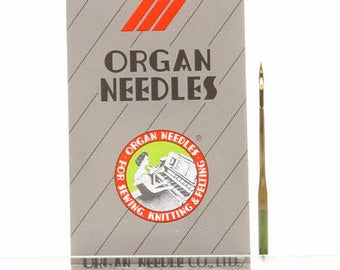 Sewing Needles - Titanium Needles - Jeans - Cork - 100/16 Sharp - 10 Pack