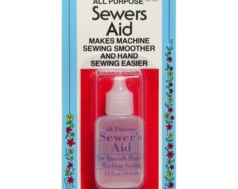 Thread Conditioner  - All Purpose Sewers Aid - Machine or Hand Sewing - 1/2 fluid ounce Collins c21