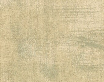 Tan Textured Fabric - Tan Grunge by BasicGrey for Moda Fabrics 30150 162 Dark Tan with Gray - Priced by the 1/2 yard