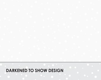 Solitaire Whites - Falling Snow - Tone on Tone White  - Maywood Studio MAS16006 UW - Ultra White - Priced by the half yard
