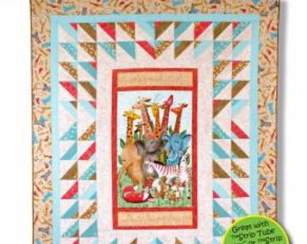 Love Those Panels Pattern - By Daniela Stout for Cozy Quilt Designs - CQD 01134 - DIY Project - quilt project
