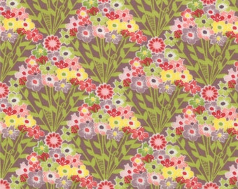 Floral Bouquet Fabric - Flower Fan from Chantilly by Lauren and Jessi Jung for Moda Fabrics 25073 16 - Priced by the  1/2 yard