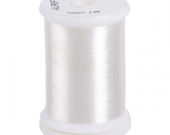 Aurifil Invisible Thread - Applique, Basting - Nylon Monofilament ITBC 1000 - 1094 yards - Clear