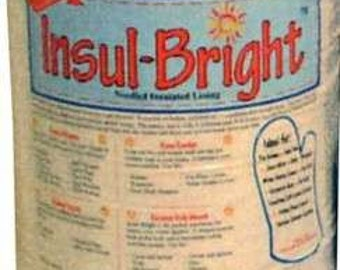 Insulated Batting - Insul-Bright 6320 WN - Narrow width, 22-1/2 Inch Wide - Priced by the half yard