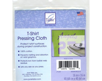 T-Shirt Pressing Cloth - June Tailor - 16-Inch square JT234 - One per package