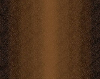 Ombre Fabric - Maywood Studio Bountiful - Blender Fabric - MAS 9305 A - Brown - Priced by the 1/2 yard