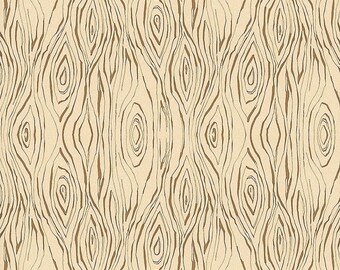 Wood Grain Fabric, Blend fabrics, Cori Dantini, Wood Print fabric - Little Red Riding Hood - 112 109 07 - Priced by the 1/2 Yard