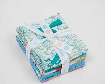 "Gumby Fabric - Riley Blake - Fat Quarter Bundle (8 pieces) - Each FQ 18""x22"""