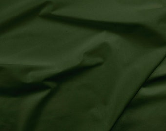 Solid Green Fabric - Paintbrush Studio Painters Palette Solid Cottons 121 074 Forest Green - Priced by the half yard