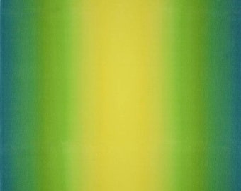 Gelato Ombre Fabric - Elite Studio - Blender Fabric - EES 11216 SQ Green Yellow - Priced by the 1/2 yard