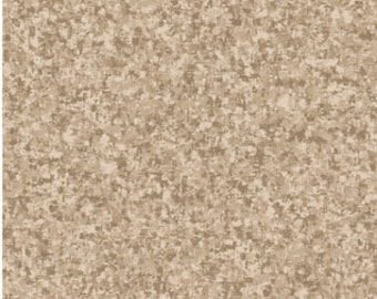 Taupe Gray Solid Textured Fabric - Quilting Treasures QT Basics Color Blend - 23528 AK - end of bolt 24 inch