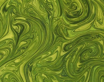 Green Fabric - Marble Fabric - Michael Miller CX 1087 Tone on Tone Herb Green - Priced by the 1/2 Yard