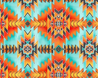 Southwest Fabric - Saddle Blanket - Stuck on You by Timeless Treasures C7215 - Priced by the Half yard