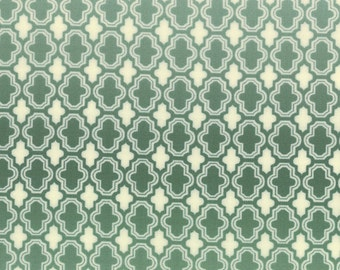Lush Uptown Fabric - Shaded Tile Fabric from Lush Uptown by Erin Michaels for Moda Fabrics 26048 32 Aqua Sky - Priced by the 1/2 yard