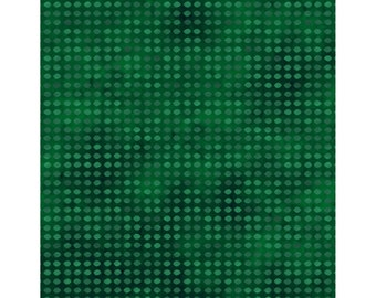 Dit Dot Fabric - Blender Fabric - Marble Fabric - In the Beginning Fabric -  8AH 30 Evergreen - Priced by the 1/2 yard
