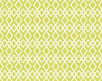 Lattice Fabric - Lula Magnolia by Quilted Fish for Riley Blake Designs C3774 Green - Priced by the 1/2 Yard