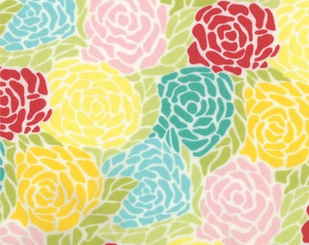 Abstract Floral Fabric - Mosaic from Chantilly by Lauren and Jessi Jung for Moda Fabrics 25071 11 Field - Priced by the 1/2 yard