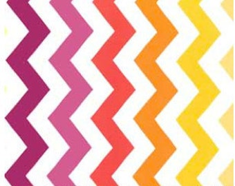 Sun Chic Chevron Fabric by Michael Miller PC 5709 Sun - Priced by the 1/2 yard
