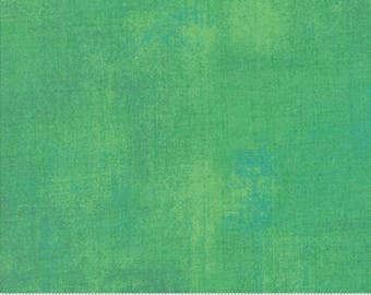 Green Textured Fabric - Jade Cream Grunge by BasicGrey for Moda Fabrics 30150 338 Light Green - Priced by the 1/2 yard