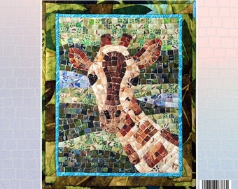 Giraffe Mosaic - Mini Mosaic Quilts From Oy Vey Quilt Designs By Cheryl Lynch - MM386 - DIY Pattern