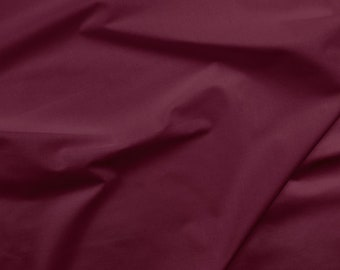Solid Maroon Fabric - Paintbrush Studio Painters Palette Solid Cottons 121 030 BORDEAUX - Priced by the half yard