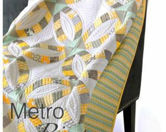 Metro Rings featuring Quick Curve Ruler - Sew Kind of Wonderful By Jenny Pedigo # SKW402